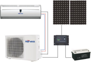 Cebu Solar Inc off Grid Solar Air Conditioner