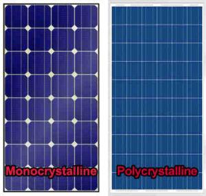 Cebu Solar Monocrystalline vs Polycrystalline