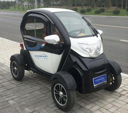 Cebu Solar Urban Mini 4 Wheeler Car